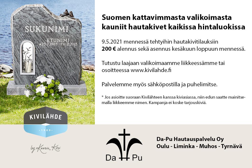 Hautakivet Oulussa ja lähikunnissa