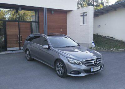 Mercedes Benz Hautausauto Harmaa