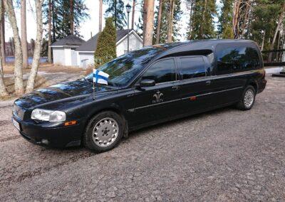 Volvo Nilsson Ruumisauto 5 Paikkanen